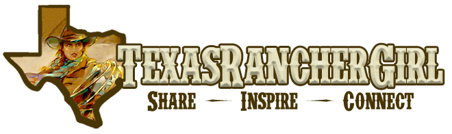 Texas Rancher Girl Logo